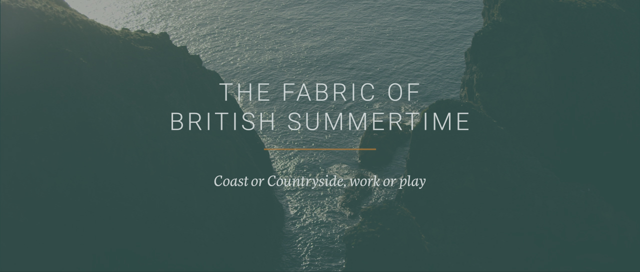 Introducing the latest Spring Summer clothing collection to Schoffel country