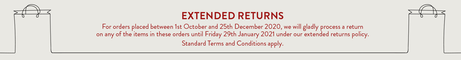 Extended Returns this Christmas