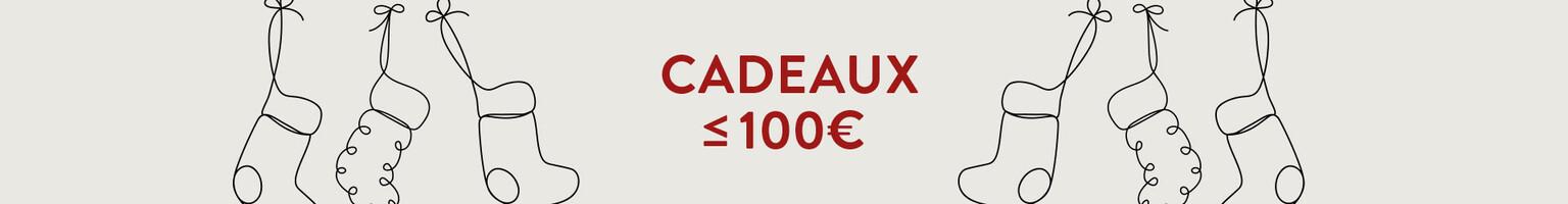 Cadeaux  ≤ 100€