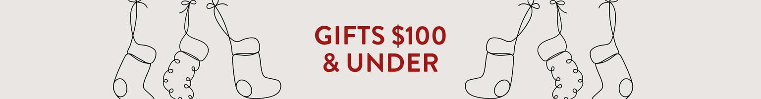 Shop gifts $100 & under
