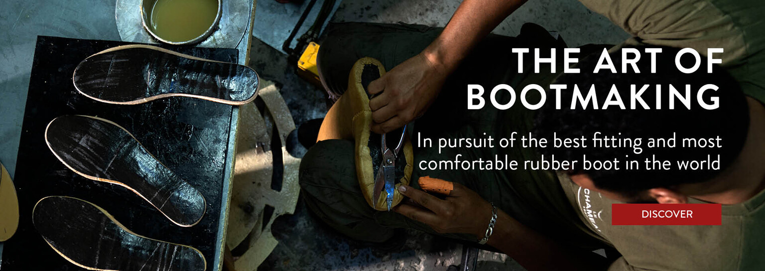 Explore the Art of Bootmaking from Le Chameau