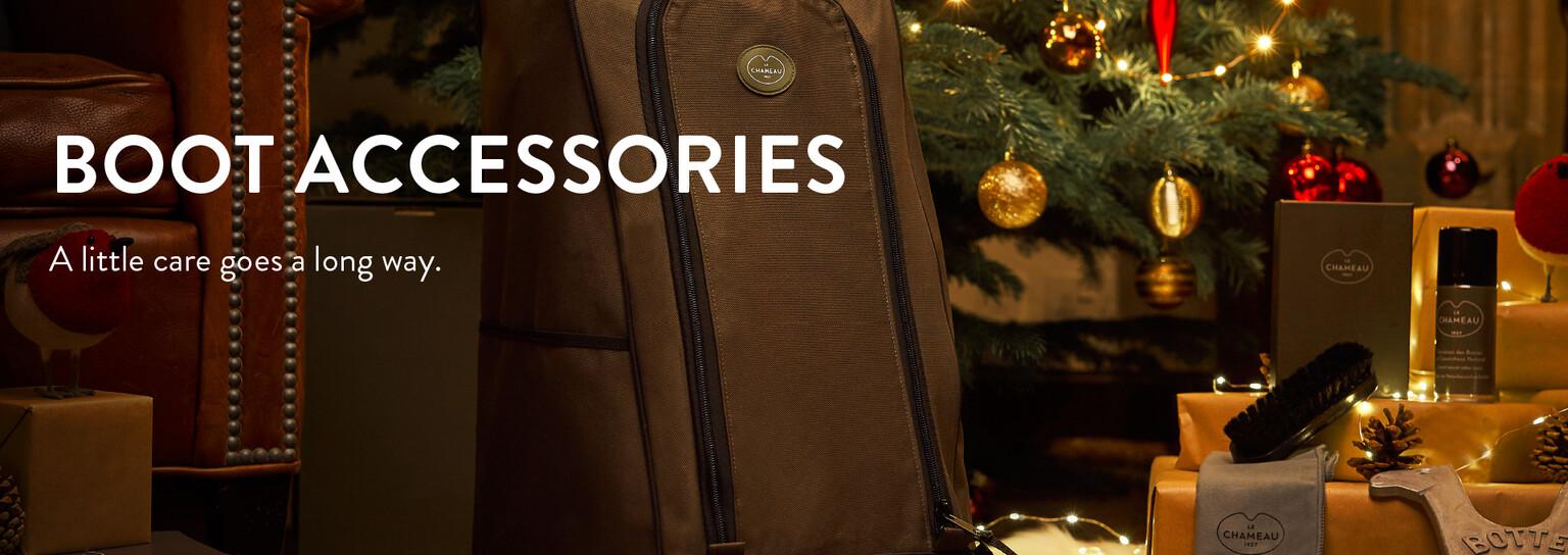 Shop boot accessories