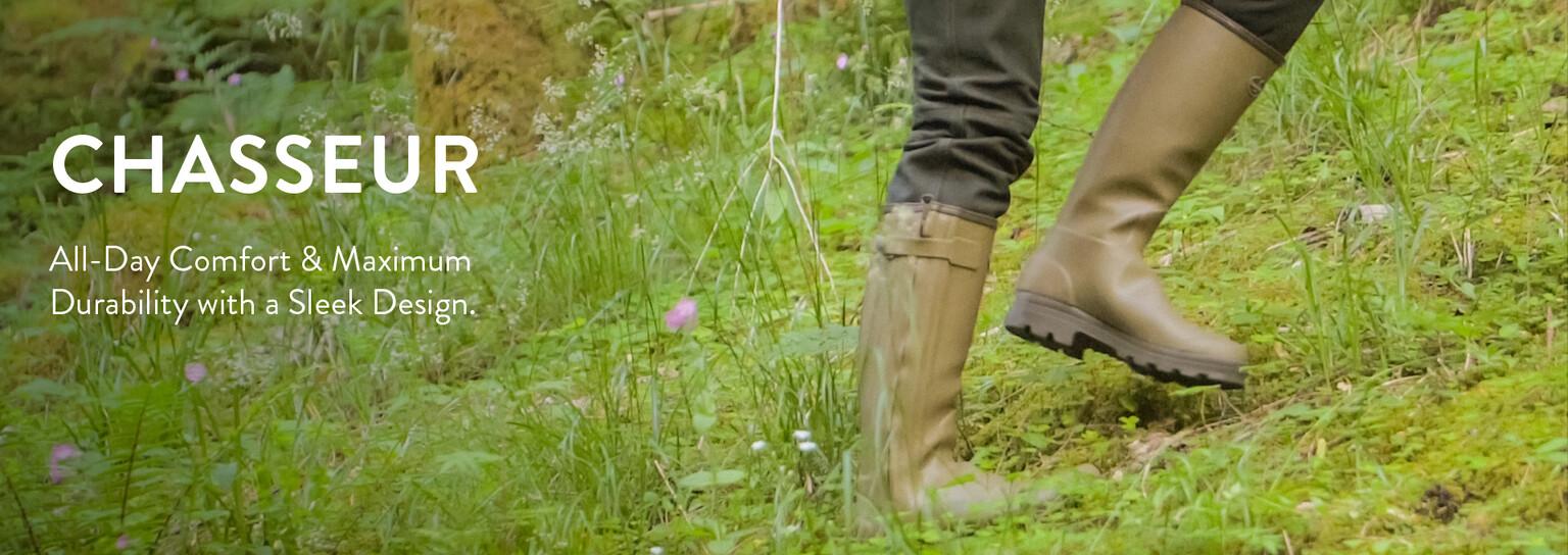 Shop Chasseur wellington boots