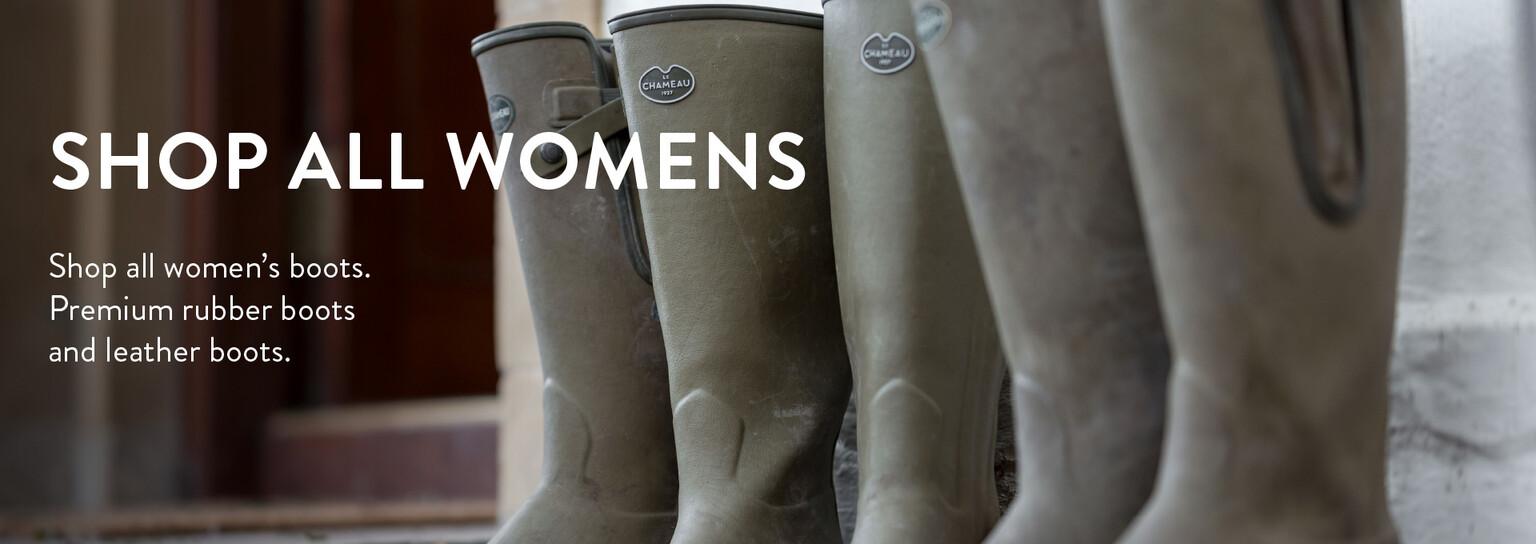 Shop all women's wellington boots