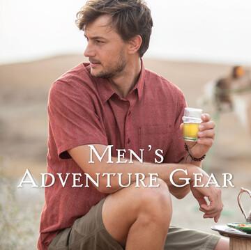 Mens Adventure Gear