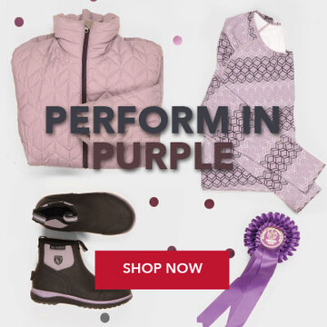 Shop Noble Equestrian Clothing & Accessories Collection in Purple