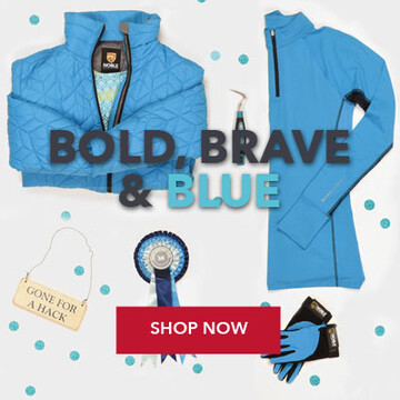 Shop Noble Equestrian Clothing & Accessories Collection in Blue