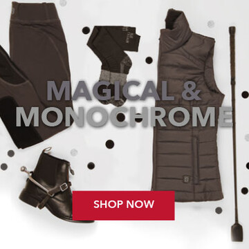 Shop Noble Equestrian Clothing & Accessories Collection in Monochrome