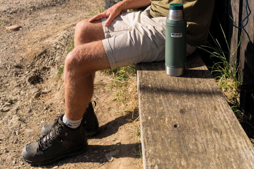 Walking and stalking boots with Michelin sole for durability