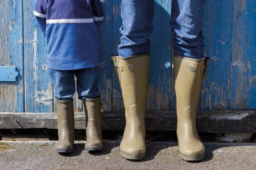 Shop the men's Vierzon rubber boot from Le Chameau