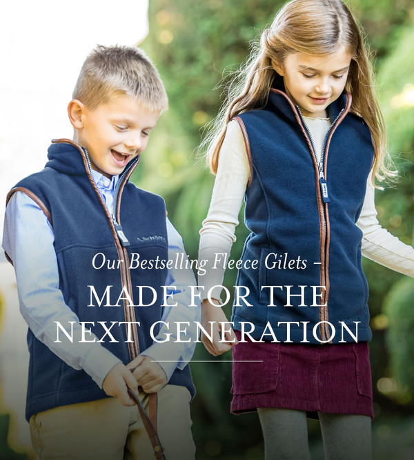 Schoffel Childrens Fleece Collection