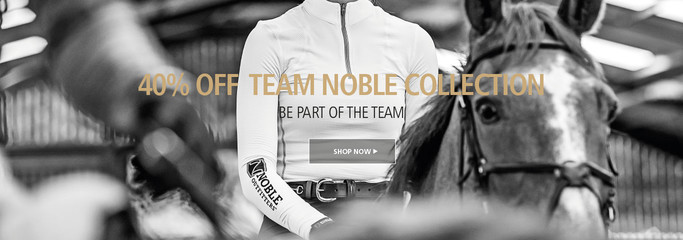 Shop Team Noble Collection with 40% for a limited time only