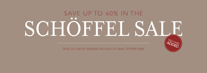 Shop the Schoffel End of Season Sale- With up to 60% off classic Schoffel styles