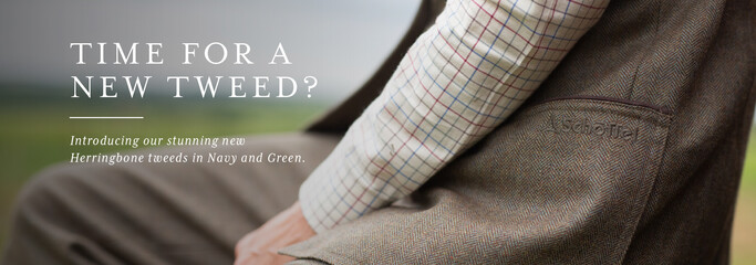 Shop our new season Tweed collection