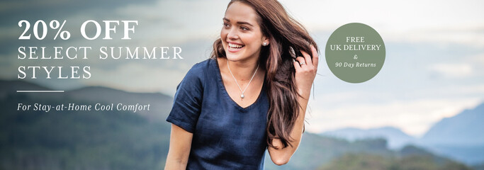 20% off select styles on summer clothing from Schoffel Country