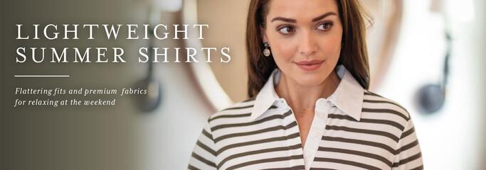 Shop lightweight summer shirts from Schoffel Country
