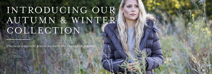 Shop our new season Autumn and Winter collections