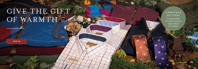 Shop all men's gifts from Schoffel this Christmas