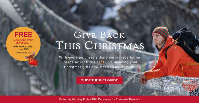 Sherpa Adventure Gear Christmas Gift Guide