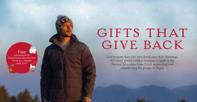 Sherpa Adventure Gear Christmas Gifts