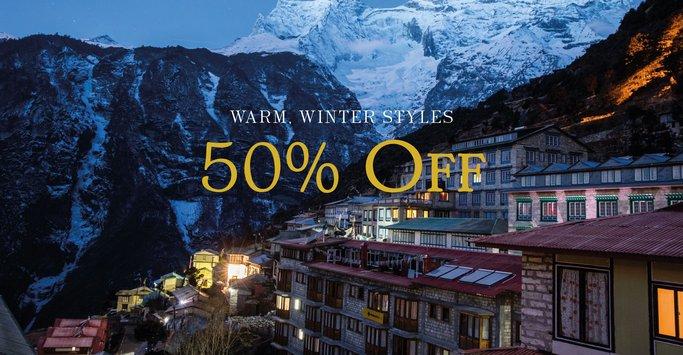Sherpa Adventure Gear Winter Sale