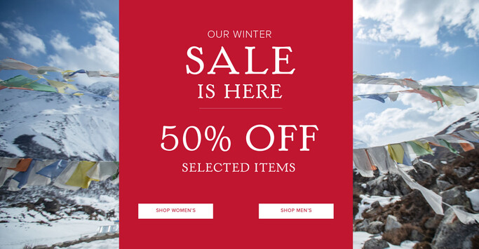 Sherpa Adventure Gear up to 50% off