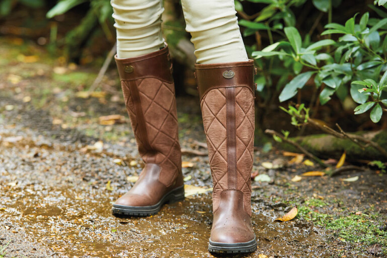 Shop Leather boots made from high quality European hides