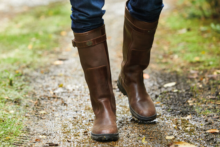 Premium leather boots from high quality European hides