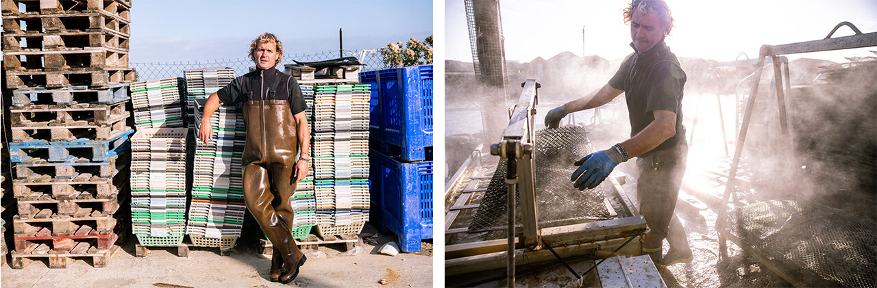 On the fees of our fishermen: Oyster Farmer