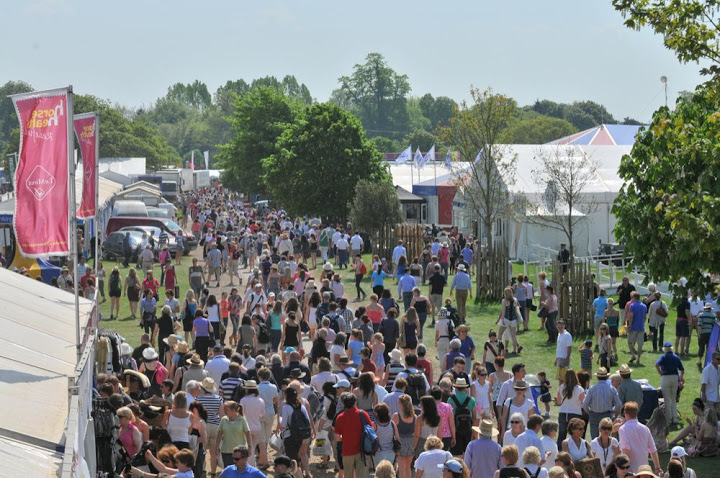 The Shopping Village is one of the highlights of Badminton Horse Trials