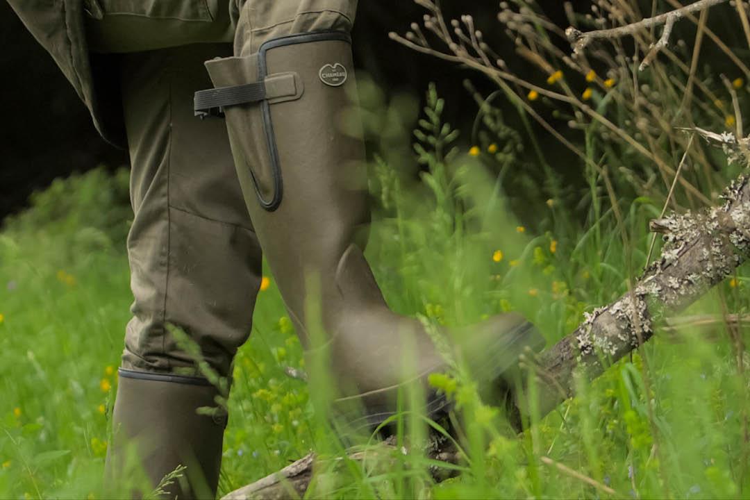 Le Chameau delta limaille evo watsiefel de caucho natural de 37 hasta 47