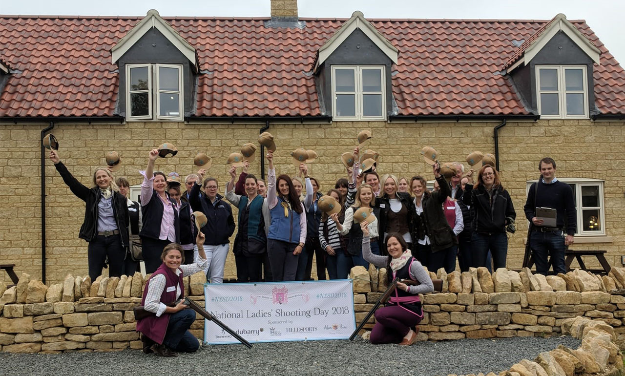 National Ladies Shooting Day takes place on Saturday 8th June