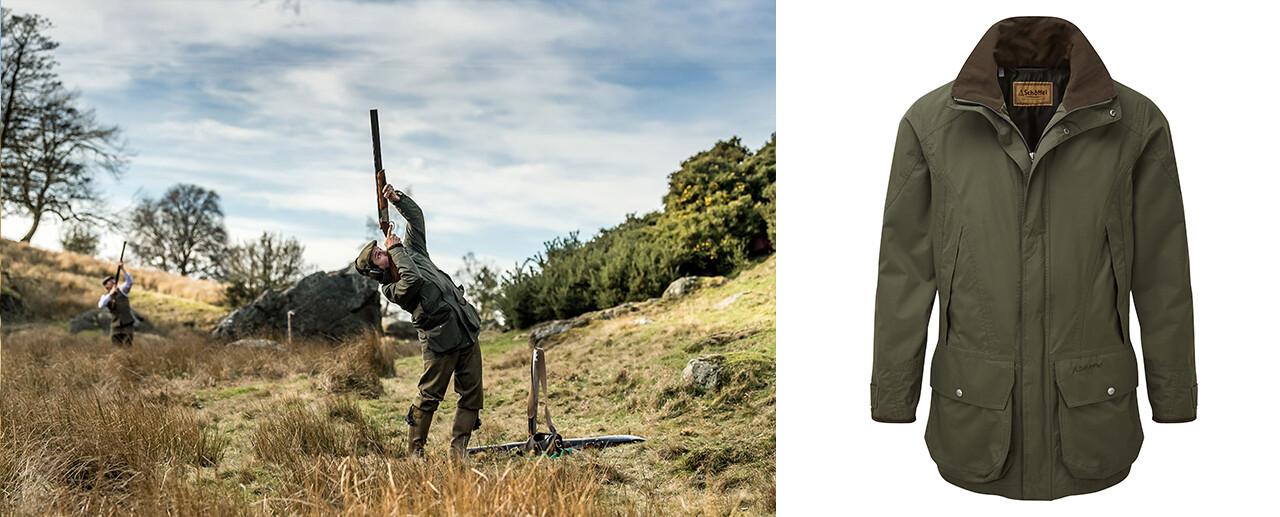 The Ptarmigan Ultralight II Shooting Coat