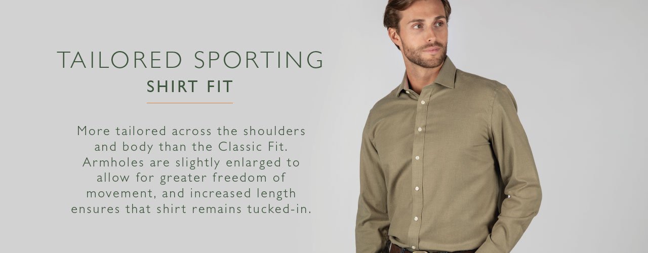 Tailored Sporting Fit