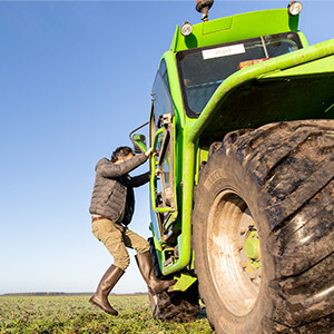 An den Füßen von Landwirten: Eric de Gouville