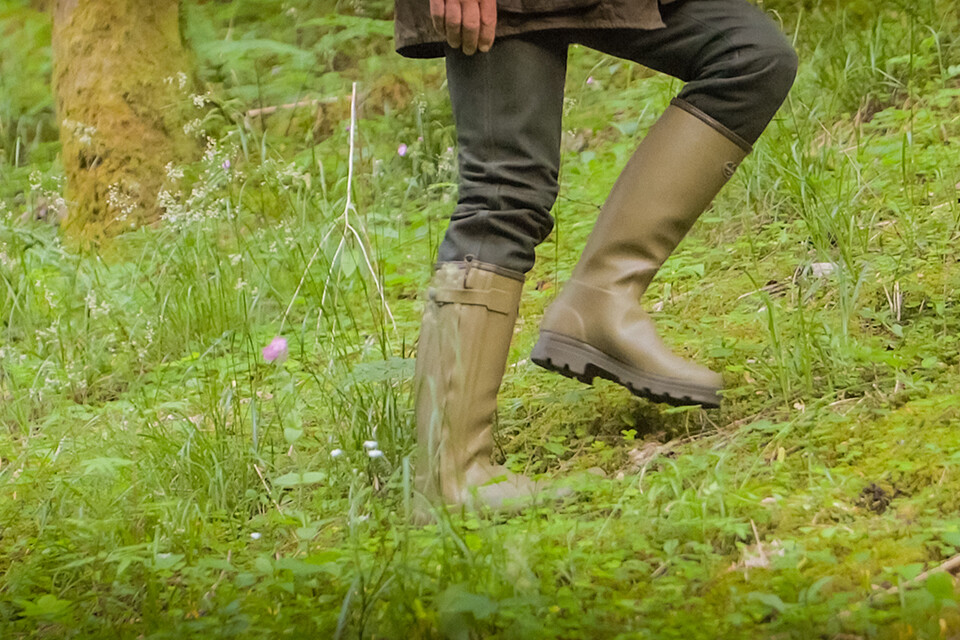Shop the Chasseur Heritage leather lined boot