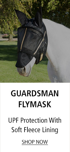 Guardsman Flymask - UPF Protection With Soft Fleece Lining - Shop Now