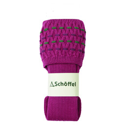Schoffel Country Ladies Stitch Sock II in Pink