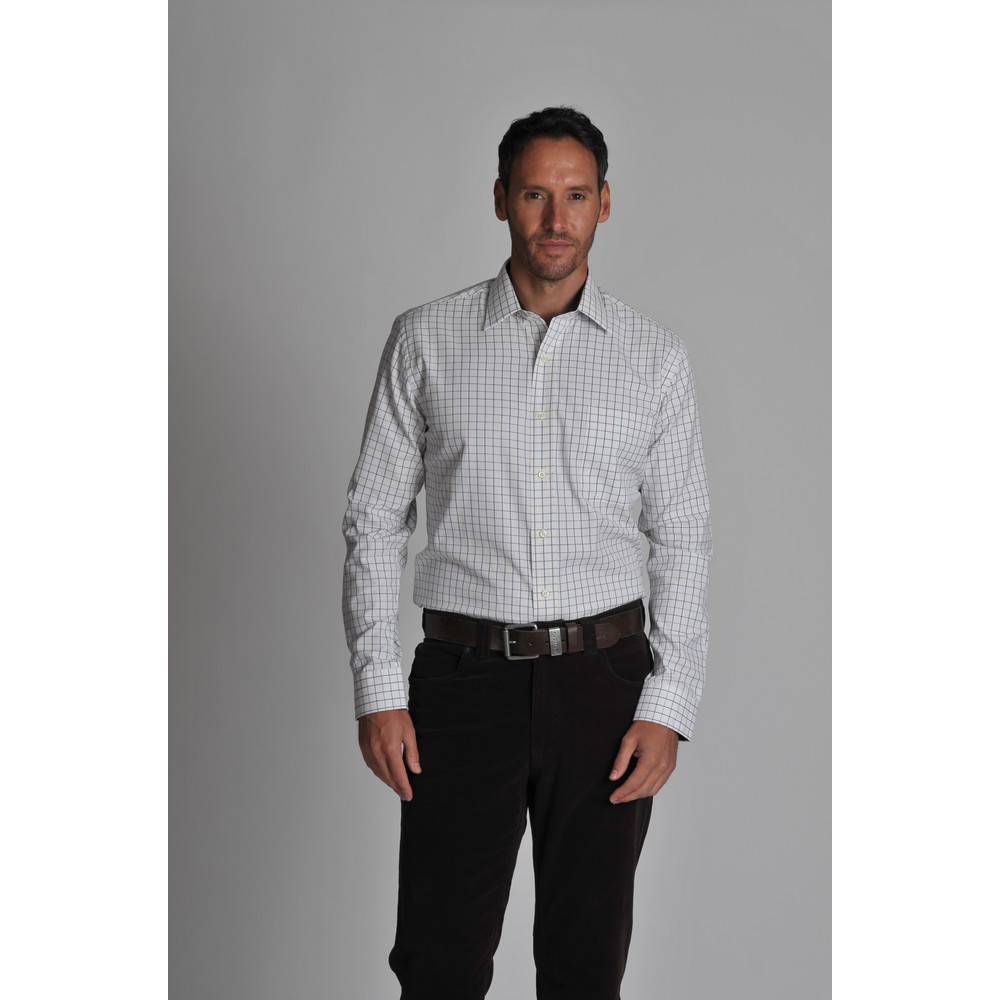 Burnham Tattersall Classic Shirt River Bed