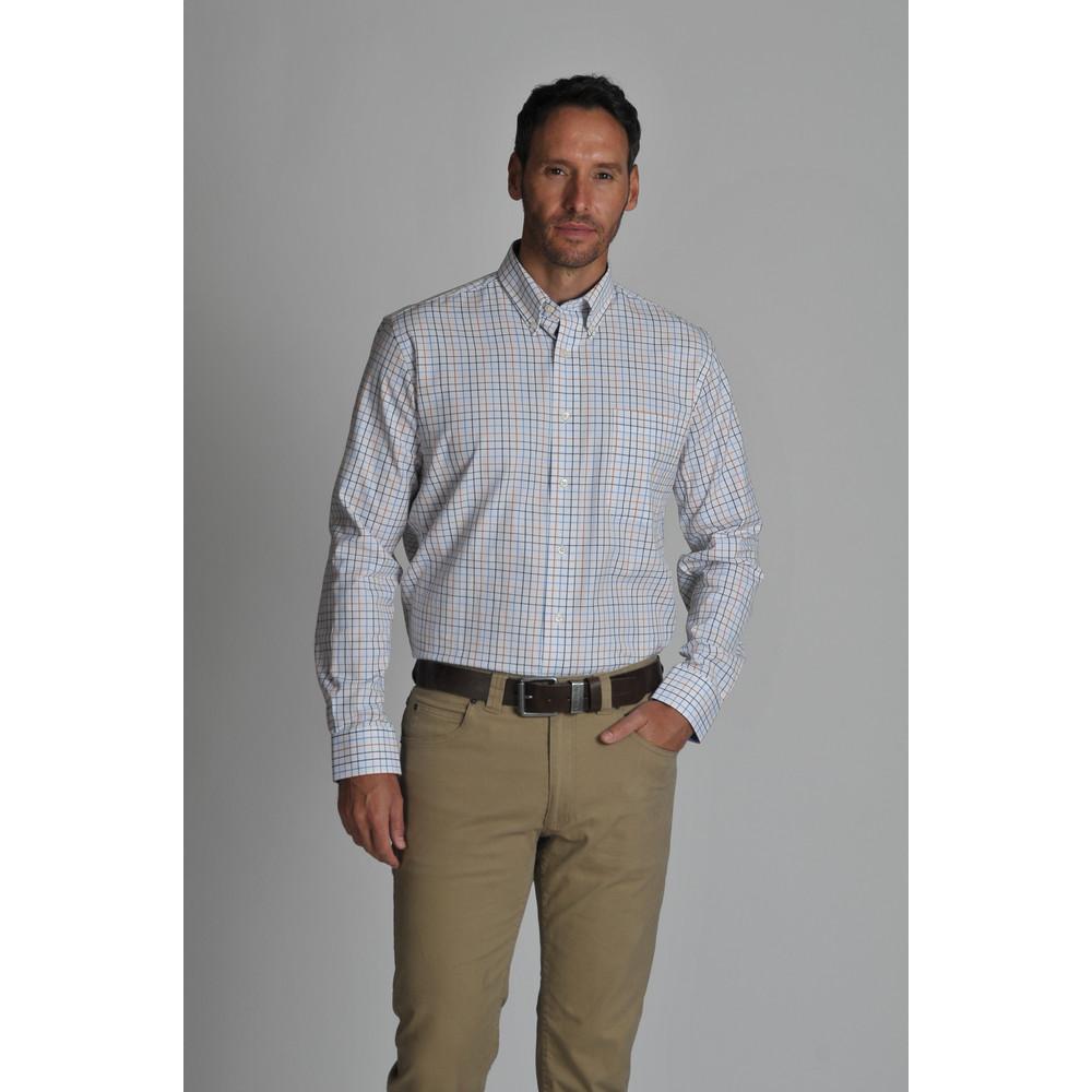 Banbury Shirt Ochre Check
