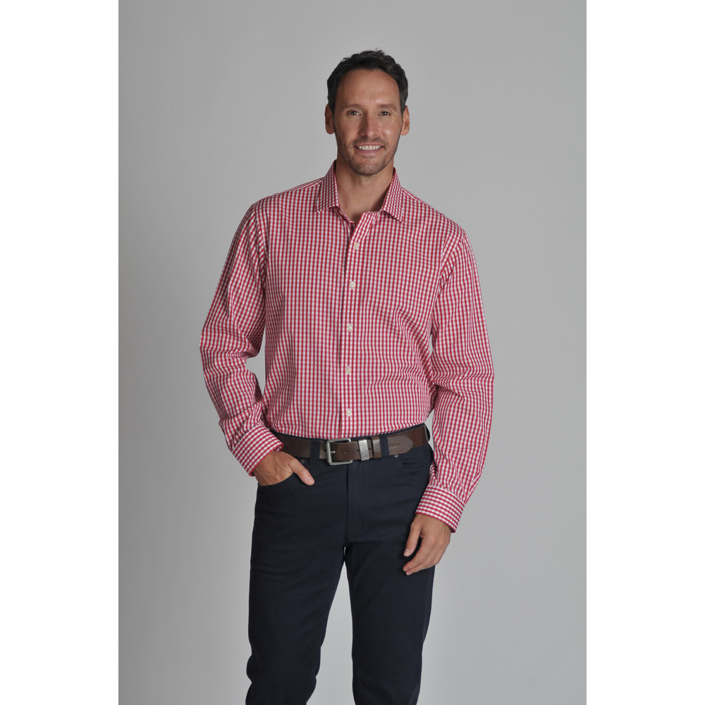 Harlington Shirt Red Gingham