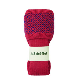 Schoffel Country Diamond Sock in Coral