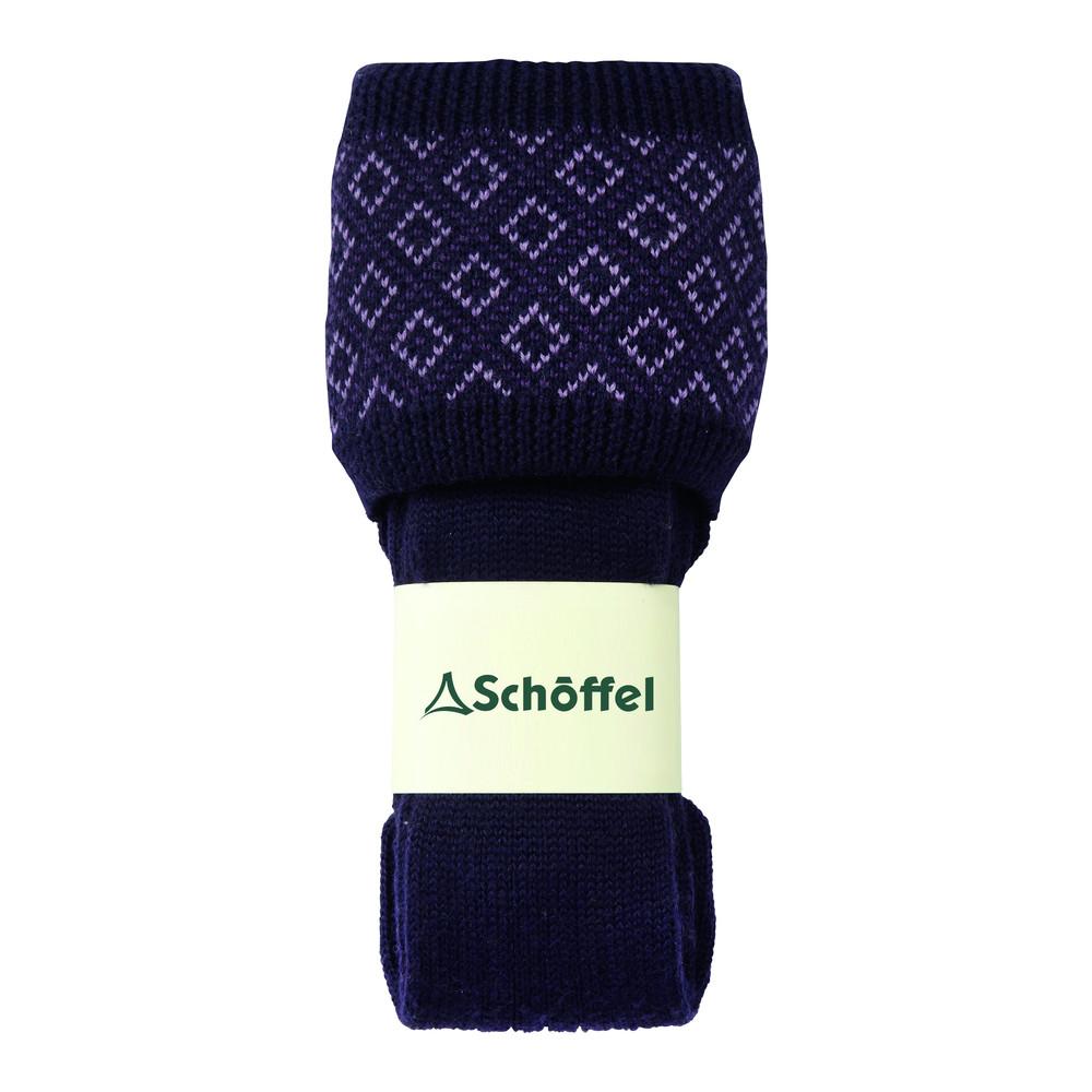 Diamond Sock Purple