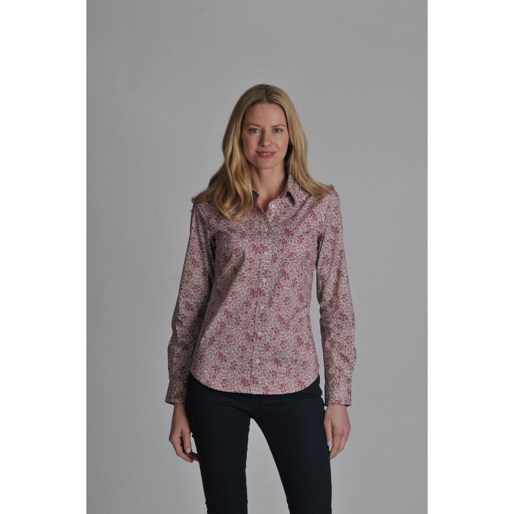 Suffolk Shirt Fern Burgundy