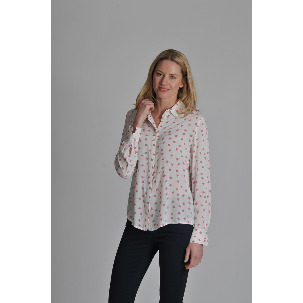 Helmsley Shirt Rose Star