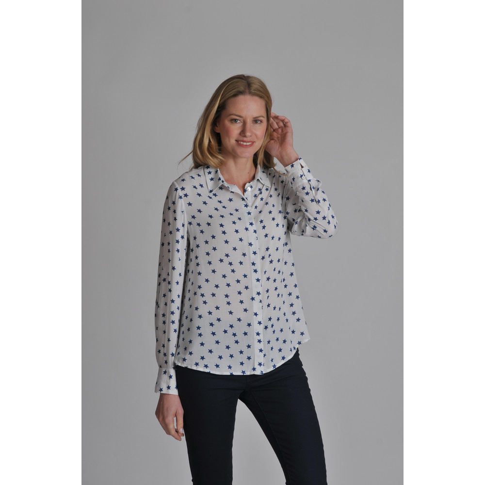 Helmsley Shirt Navy Star