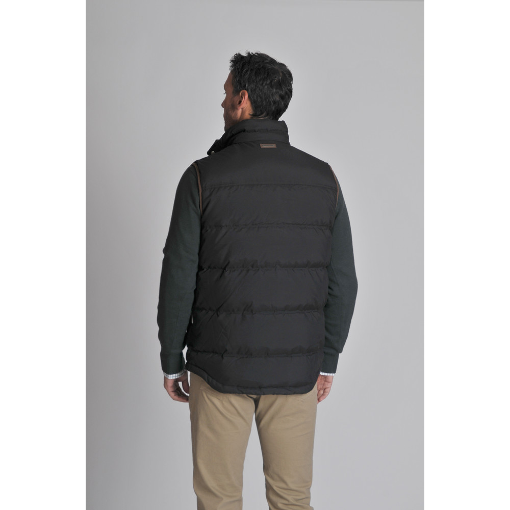 Richmond Down Gilet Charcoal