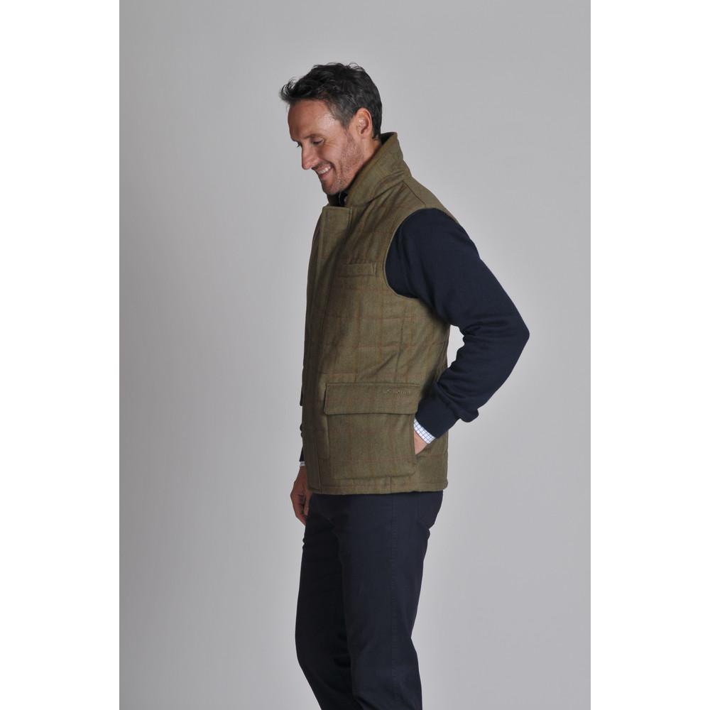 Sedbergh Tweed Gilet Sandringham Tweed