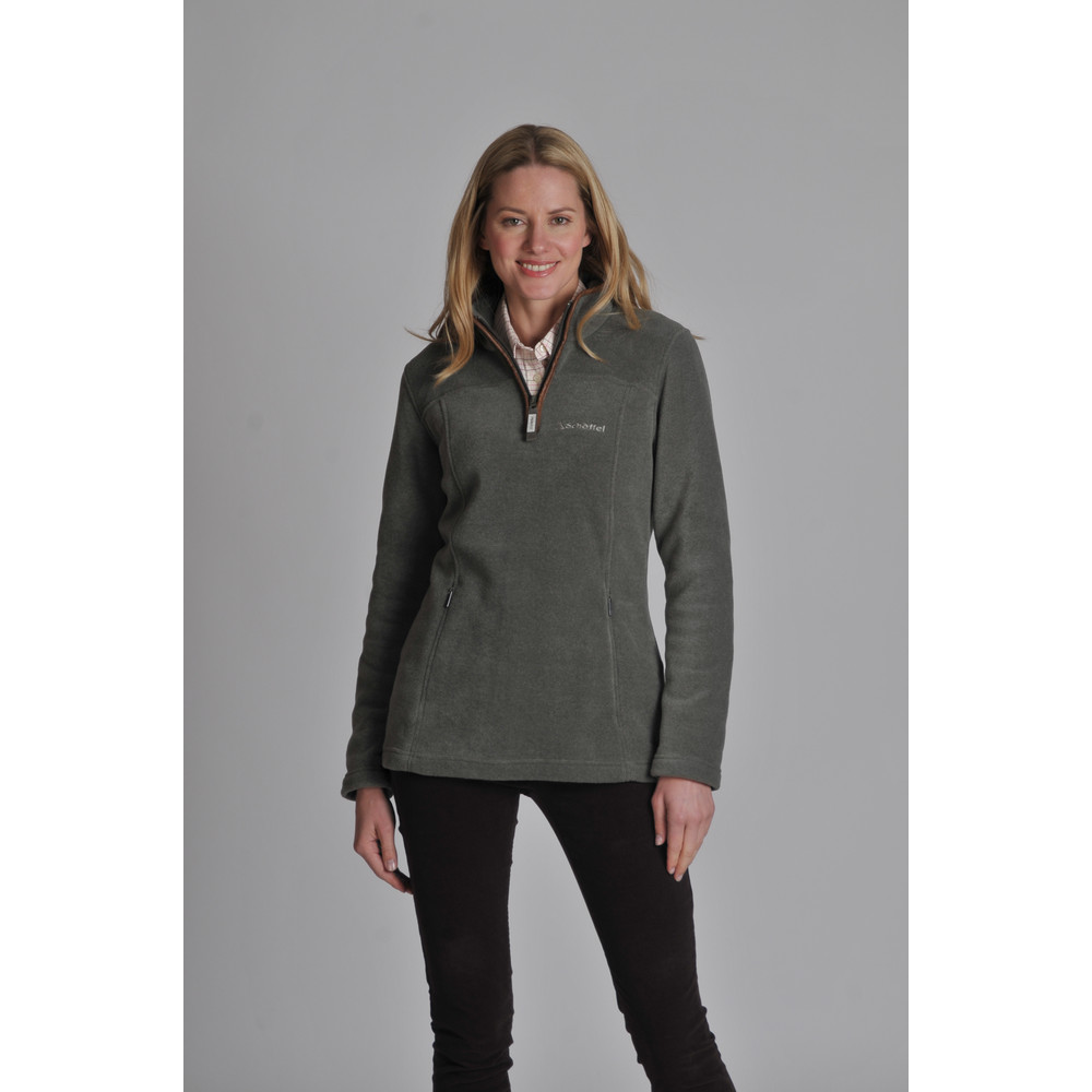 Tilton 1/4 Zip Fleece Fern