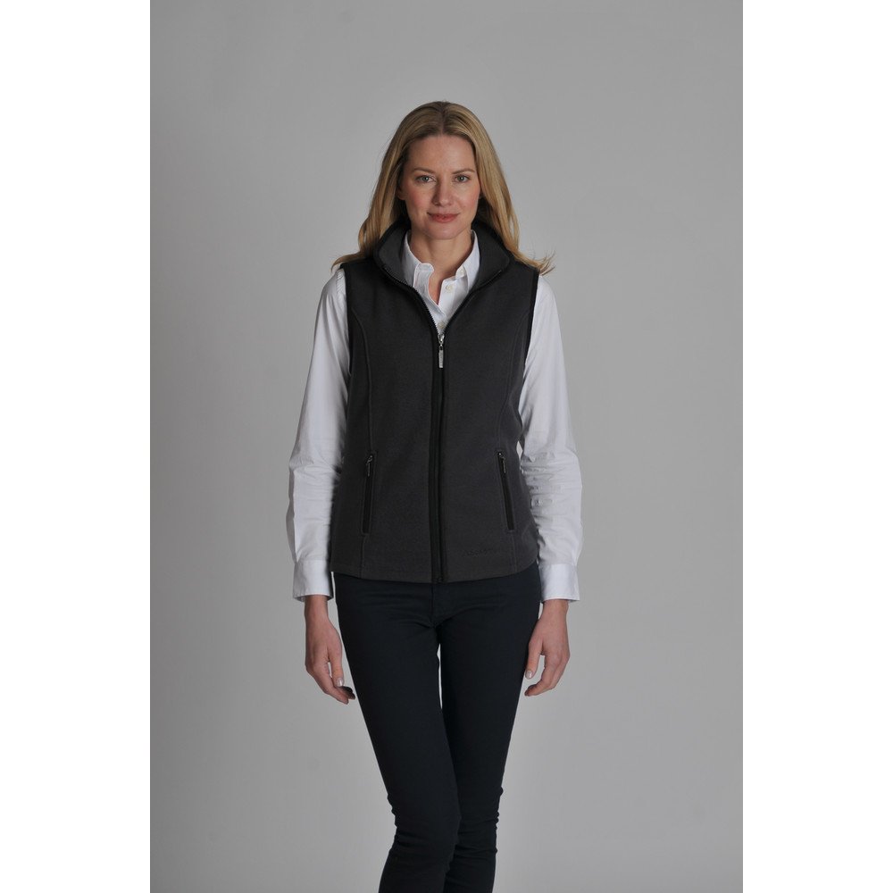 Knightsbridge Fleece Gilet Charcoal